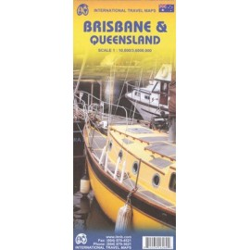 Achat Carte routière - Brisbane, Queensland - ITM