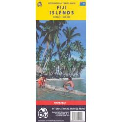 Achat Carte routière - Iles Fidji - ITM