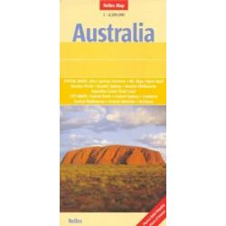 Achat Carte routière - Australie - Nelles