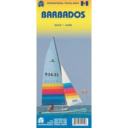 Achat Carte routière - Barbades - ITM