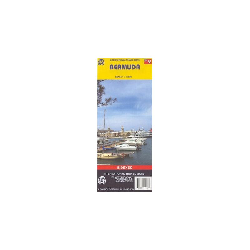 Achat Carte routière - Bermudes - ITM