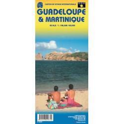 Achat Carte routière - Martinique et Guadeloupe - ITM