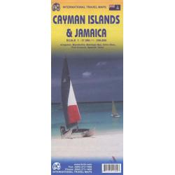 Achat Carte routière - Jamaique, iles Caiman - ITM