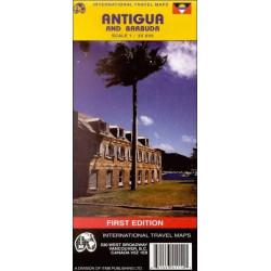Achat Carte routière - Antigua / Barbade - ITM
