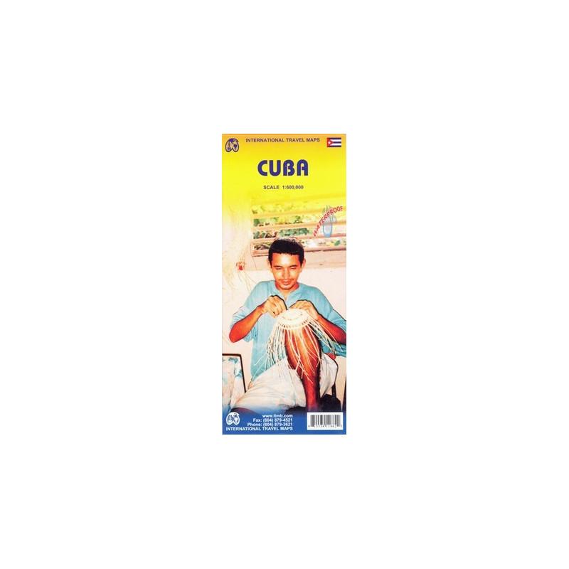 Achat Carte routière   Cuba   ITM (waterproof)