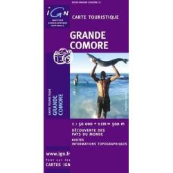 Achat Carte routière - Grande Comore - IGN