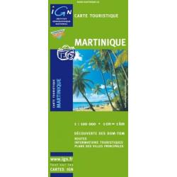 Achat Carte routière - La Martinique - IGN