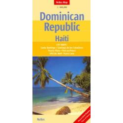 Achat Carte routière - République Dominicaine, Haiti - Nelles