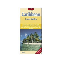 Achat Carte routière - Caraibes, petites Antilles - Nelles