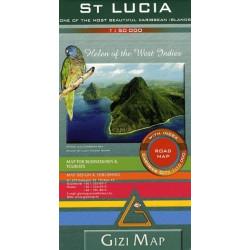 Sainte Lucie - Gizimap