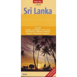 Achat Carte routière - Sri Lanka - Nelles