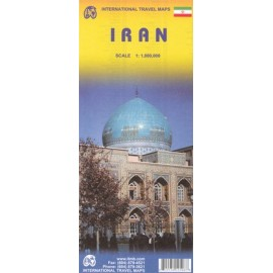 Achat Carte routière - Iran - ITM