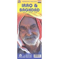 Achat Carte routière - Irak, Bagdad - ITM