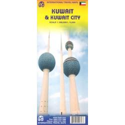 Achat Carte routière - Koweit, Koweit City - ITM