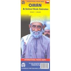 Achat Carte routière - Oman, Emirats Arabes Unis - ITM
