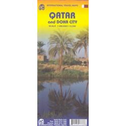 Achat Carte routière - Qatar, Doha - ITM