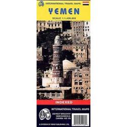 Achat Carte routière - Yémen - ITM