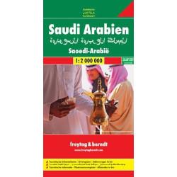 Achat Carte routière - Arabie Saoudite - Freytag