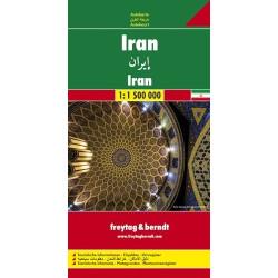 Achat Carte routière - Iran - Freytag