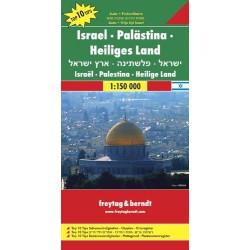 Achat Carte routière - Israel, Palestine - Freytag