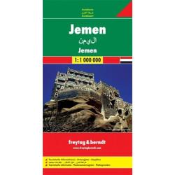 Achat Carte routière - Yémen - Freytag