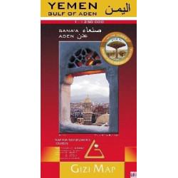 Achat Carte routière - Yémen - Gizimap