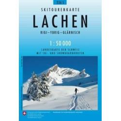 Carte ski randonnée Lachen - swisstopo 236S