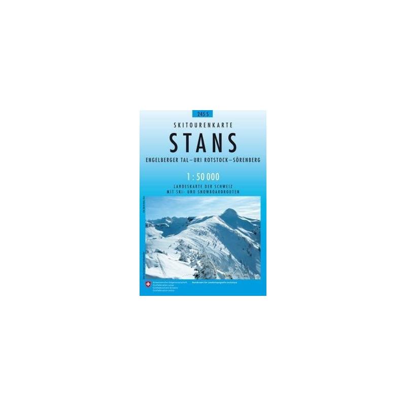 Achat Carte ski randonnée swisstopo - Stans - 245S
