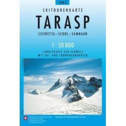 Achat Carte ski randonnée swisstopo - Tarasp - 249S