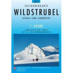 Achat Carte ski randonnée swisstopo - Wildstrubel - 263S