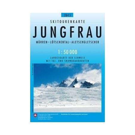 Achat Carte ski randonnée swisstopo - Jungfrau - 264S