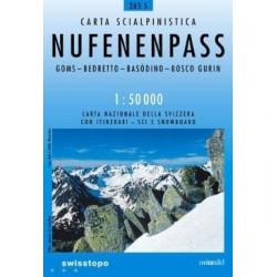 Achat Carte ski randonnée swisstopo - Nufenenpass - 265S