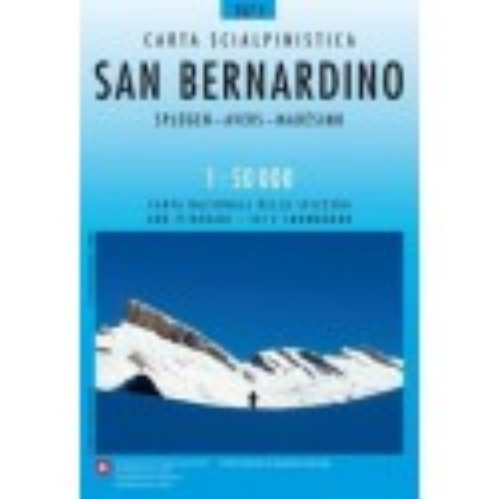 Achat Carte ski randonnée swisstopo - San Bernardino - 267S