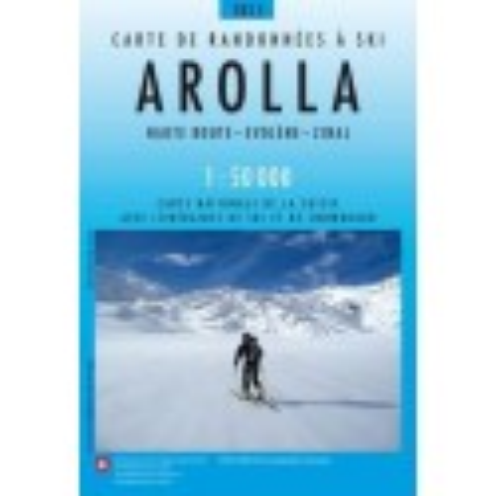 Achat Carte ski randonnée swisstopo - Arolla - 283S