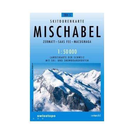 Achat Carte ski randonnée swisstopo - Mischabel - 284S