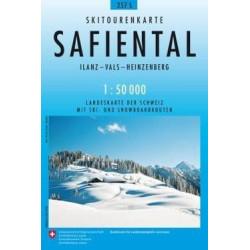 Achat Carte ski randonnée swisstopo - Safiental - 257S
