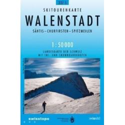 Achat Carte ski randonnée swisstopo - Walenstadt - 237S