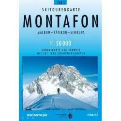 Achat Carte ski randonnée swisstopo - Montafon - 238S