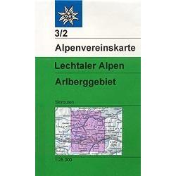 Lechtaler alpen arlberg - Alpenverein 03/2S