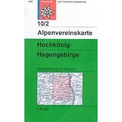 Achat Carte ski randonnée - Berchtesgadener Alpen - Alpenverein 10/2