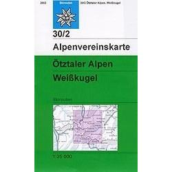 Achat Carte ski randonnée - Otztaler, Alpen Weisskugel - Alpenverein 30/2S