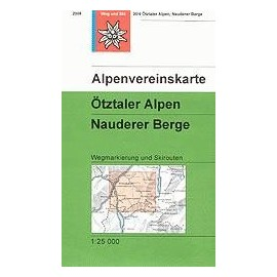 Ötztaler Alpen, Nauderer Berge - Alpenverein 30/4S