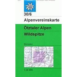 Achat Carte ski randonnée - Ötztaler Alpen, Wildspitze - Alpenverein 30/6S