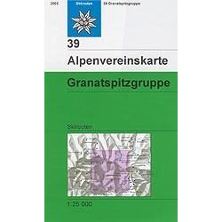Achat Carte ski randonnée - Granatspitzgruppe - Alpenverein 39/S