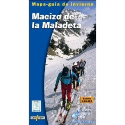 Achat Carte ski randonnée - Macizo de la Maladeta - Alpina