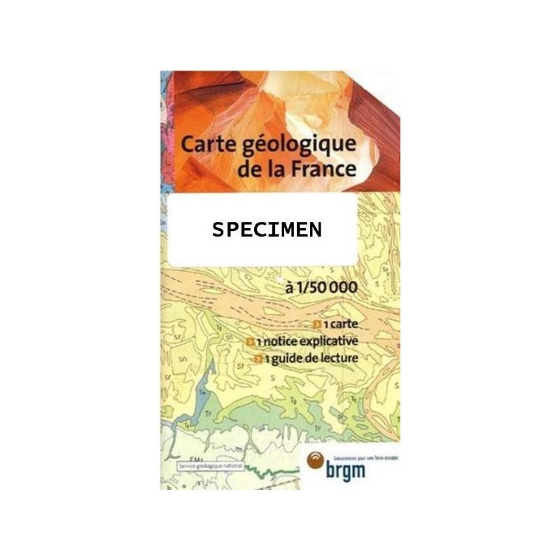 Achat Carte Geologique Brgm
