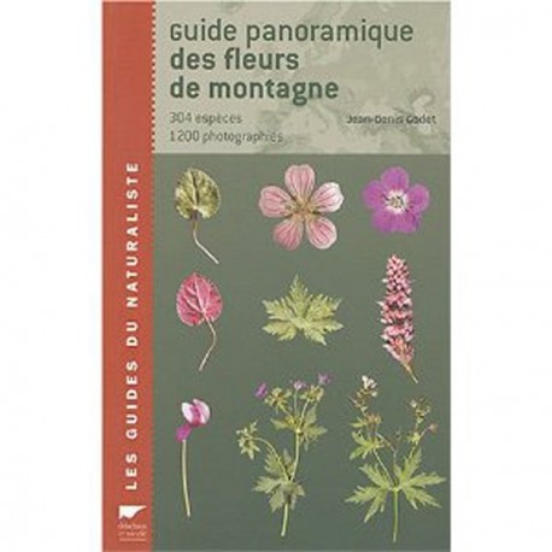 Achat Guide panoramique des fleurs sauvages - Delachaux