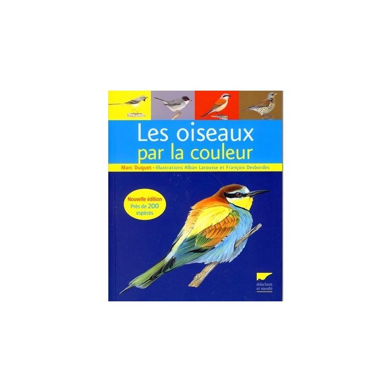 achat les oiseaux par la couleur delachaux