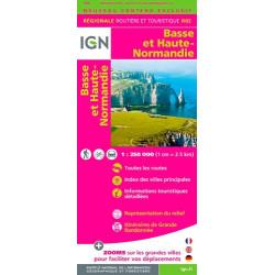 Basse et Haute Normandie - IGN R02