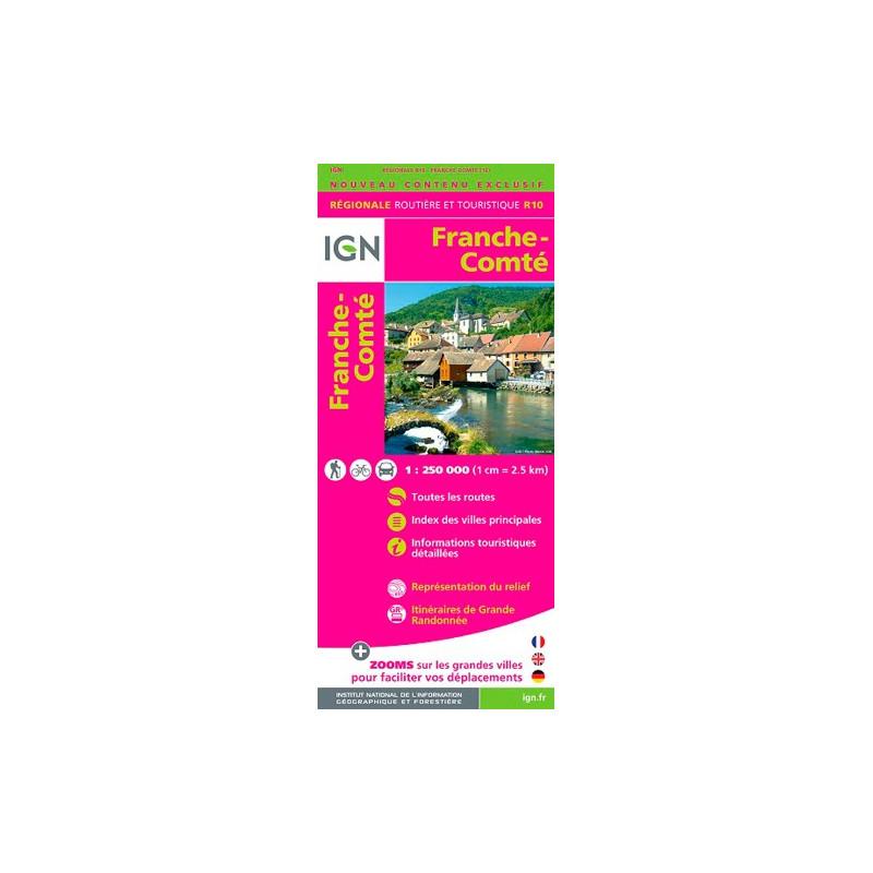 Franche-Comté 2015 - IGN R10